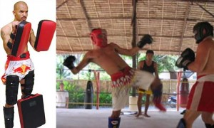 Sparring -- Muay Thai Training Camp