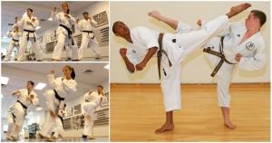 Karate from Japan -- Muay Thai training camp Thailand