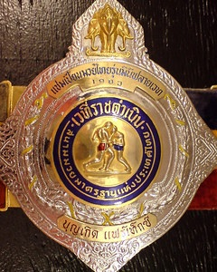 Muay Thai Champion of Rajadamnern -- Muay Thai training Phuket
