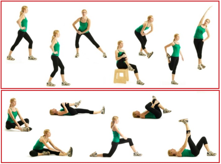 Stretches for Hamstring | Singpatong Sitnumnoi