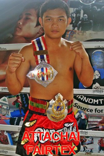 Attachai Fairtex -- Muay Thai camp Phuket