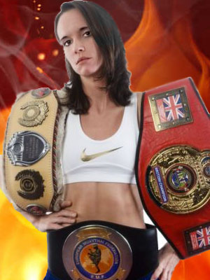 Female WBC International Super Flyweight Champion